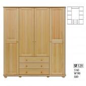 Шкаф для дачи Витязь - 119 мод. 3