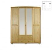 Шкаф для дачи Витязь - 119 мод. 1